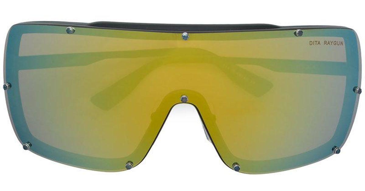 e115d41f2da3 Dita Eyewear Ray Gun Sunglasses in Black - Lyst
