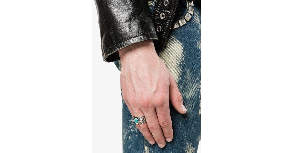 040c0d0707bf3 Gucci Garden Ring in Metallic for Men - Lyst