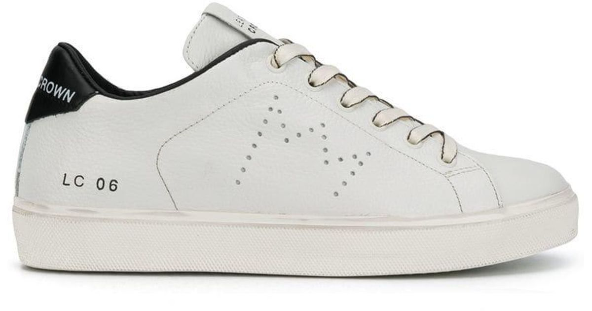 Lyst - Leather Crown Iconic Sneakers b6d84757e7b