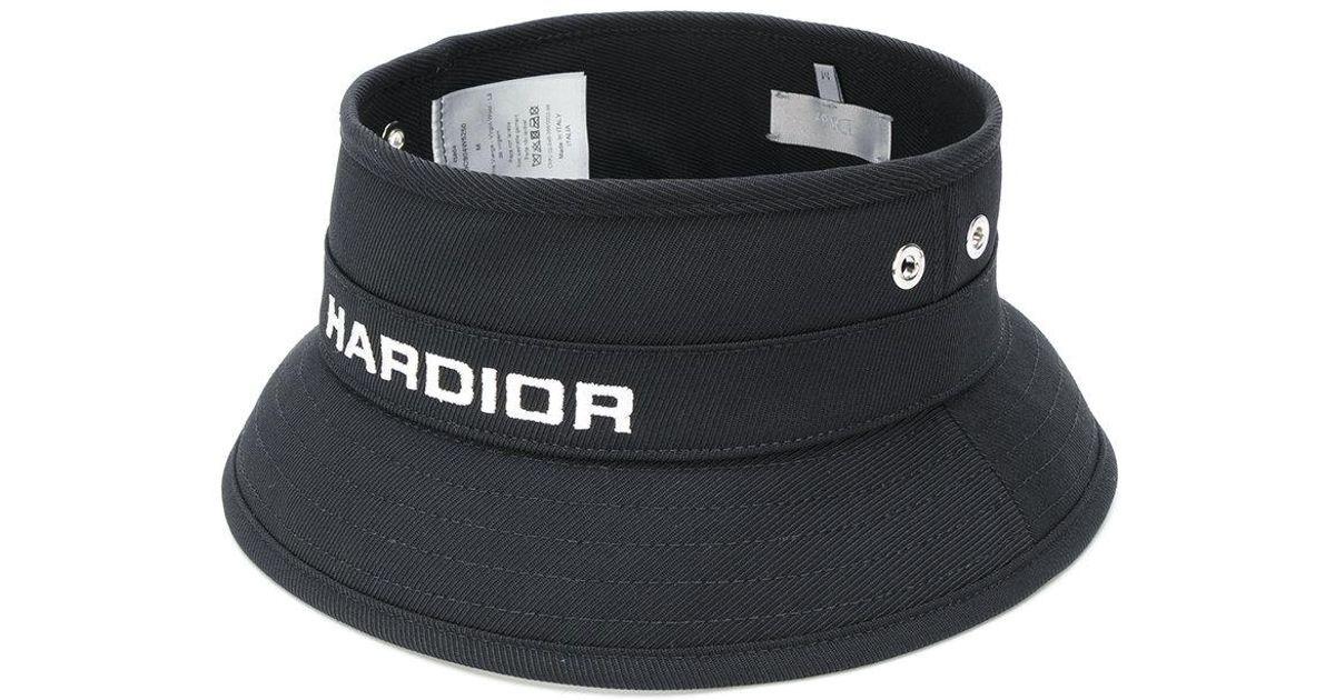 Lyst - Dior Homme Hardior Bucket Hat in Black for Men 7418dbe2216