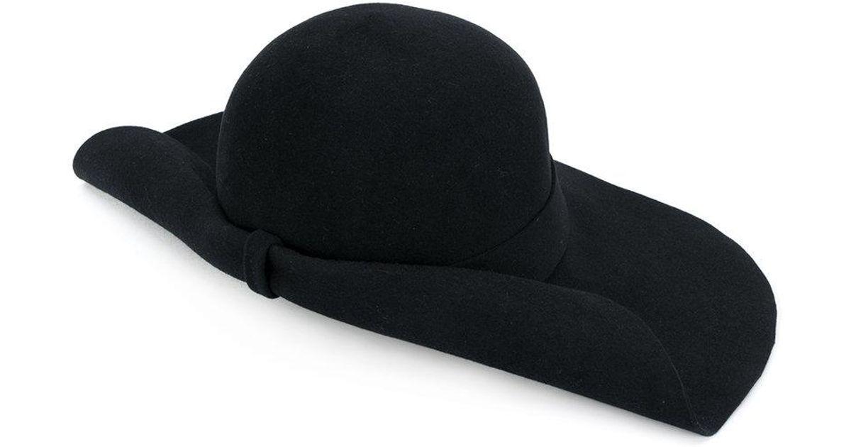 967140caf Lyst - Gucci Felt Hat in Black