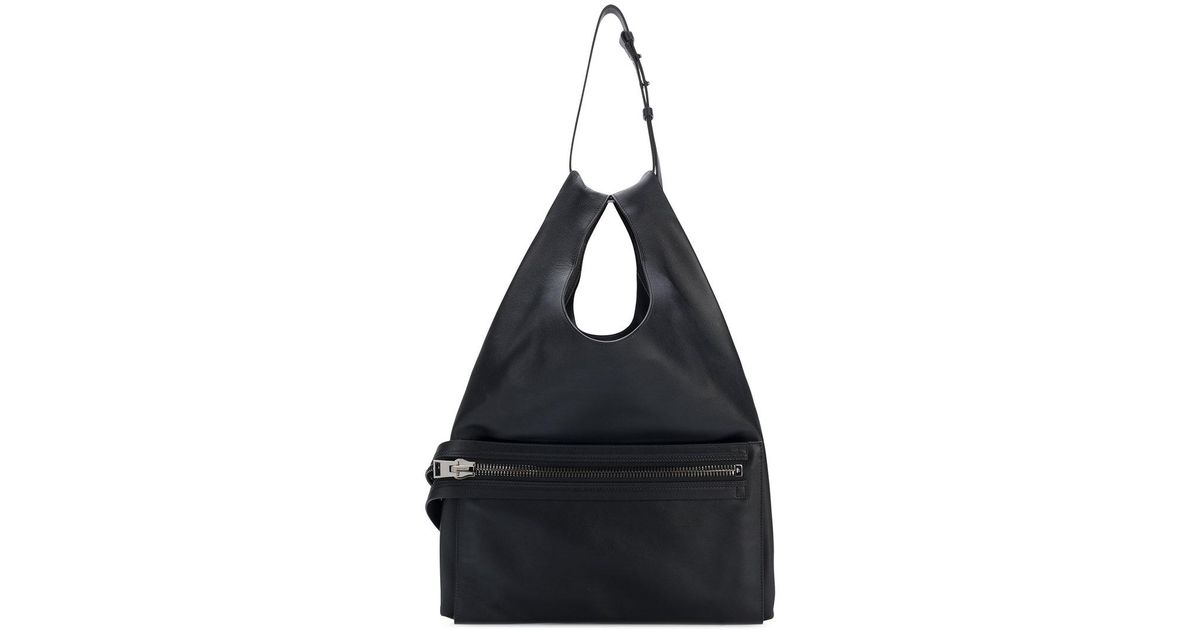 eb81b1d60a90 Lyst - Tom Ford Zip Front Large Tote Bag in Black