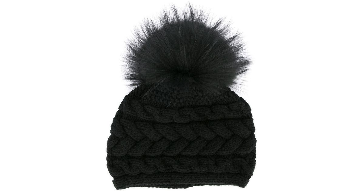 1ab8e5147bb Lyst - Inverni Beatrice Hat in Black