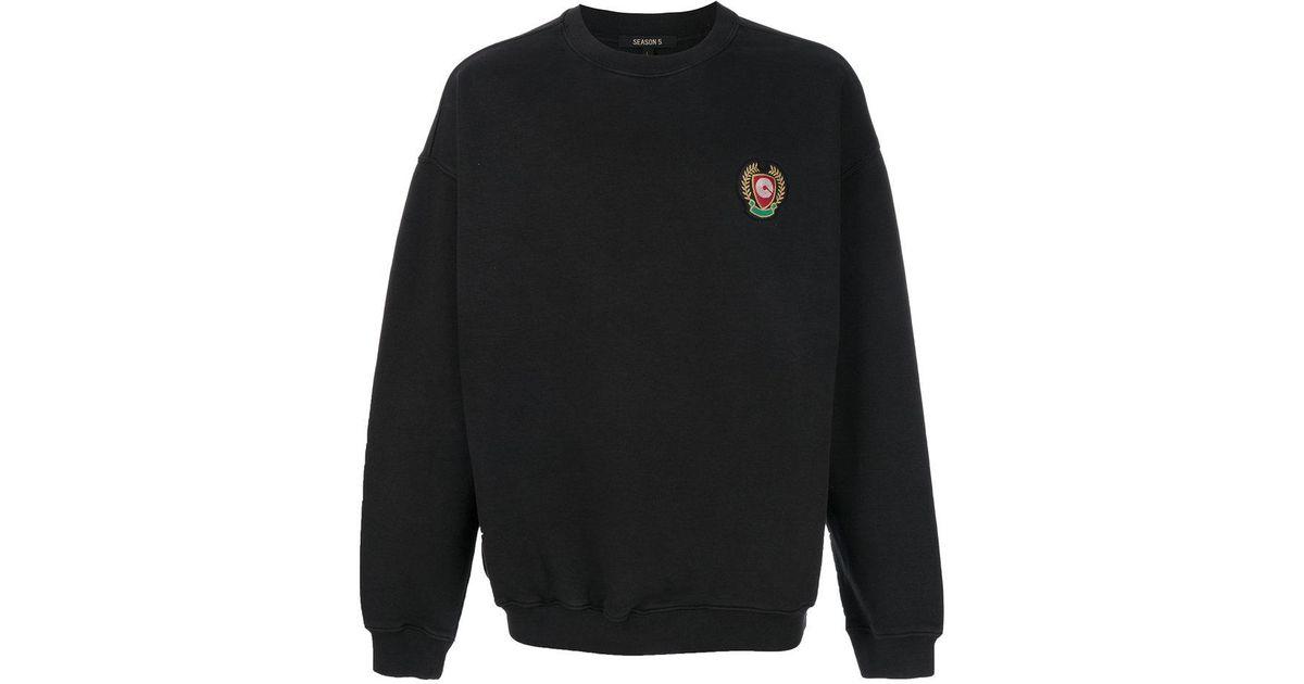 93fc7c53c Lyst - Yeezy Season 5 Calabasas Sweatshirt in Black