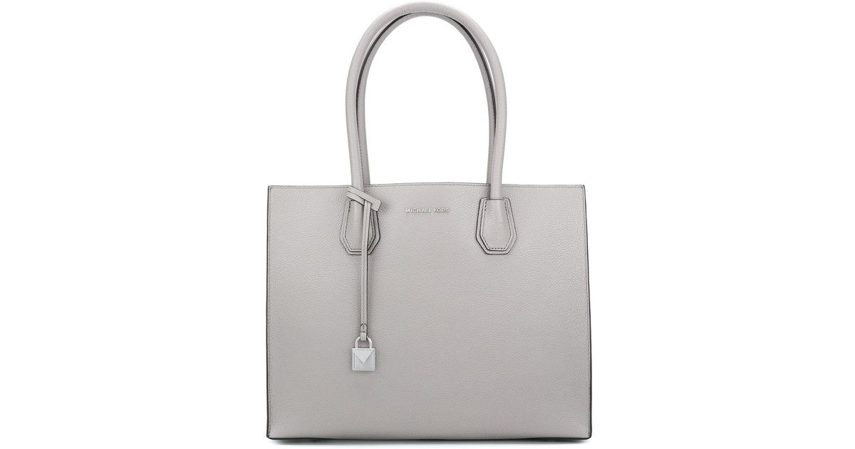 b0a05209a265 Lyst - MICHAEL Michael Kors Mercer Extra-large Tote in Gray