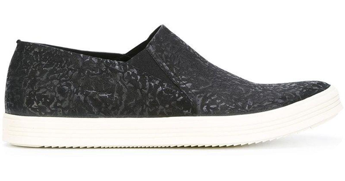 Rick Owens Morses Chaussures De Pont - Noir Mastodonte tFnOhgp8R