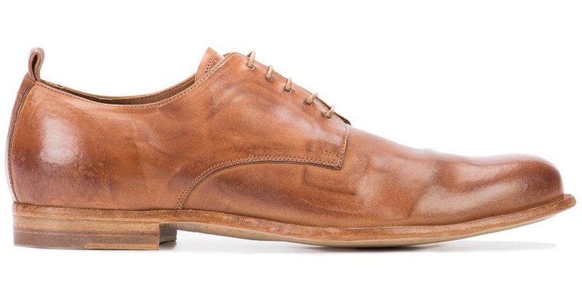Mono Créatif Officine 1 Chaussures Derby - Marron CD0sVWP8