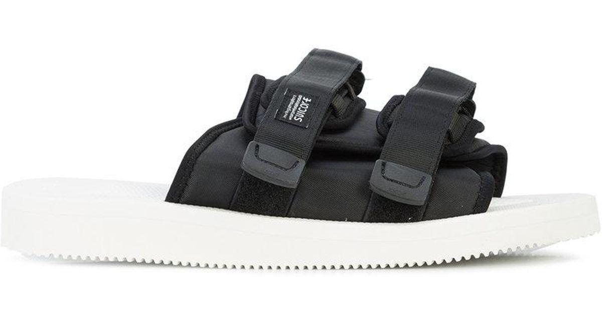 0fae60430a61 Lyst - Suicoke John Elliott X Sandals in Black for Men