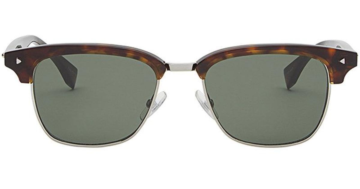 3bf10cc355d6 Fendi Sun Fun Sunglasses in Brown for Men - Lyst