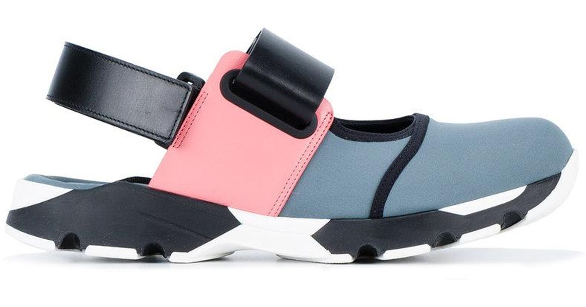 Marni Colour block sneaker sandals eGQFwgX6nF