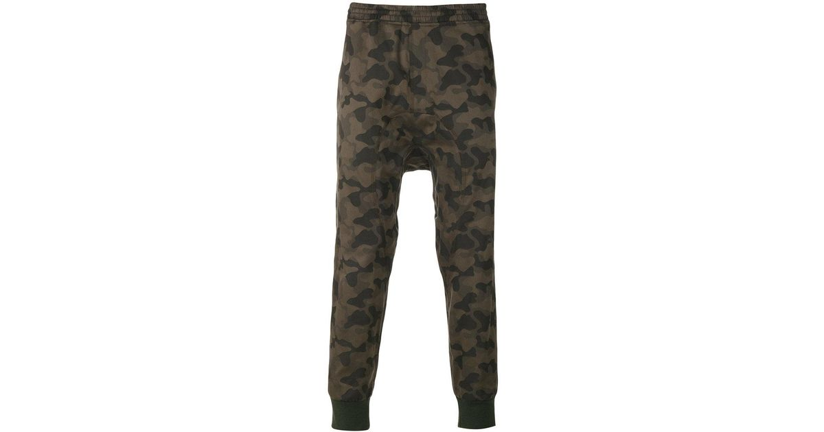 Neil barrett classic track trousers in green for men lyst for Classic uk house tracks