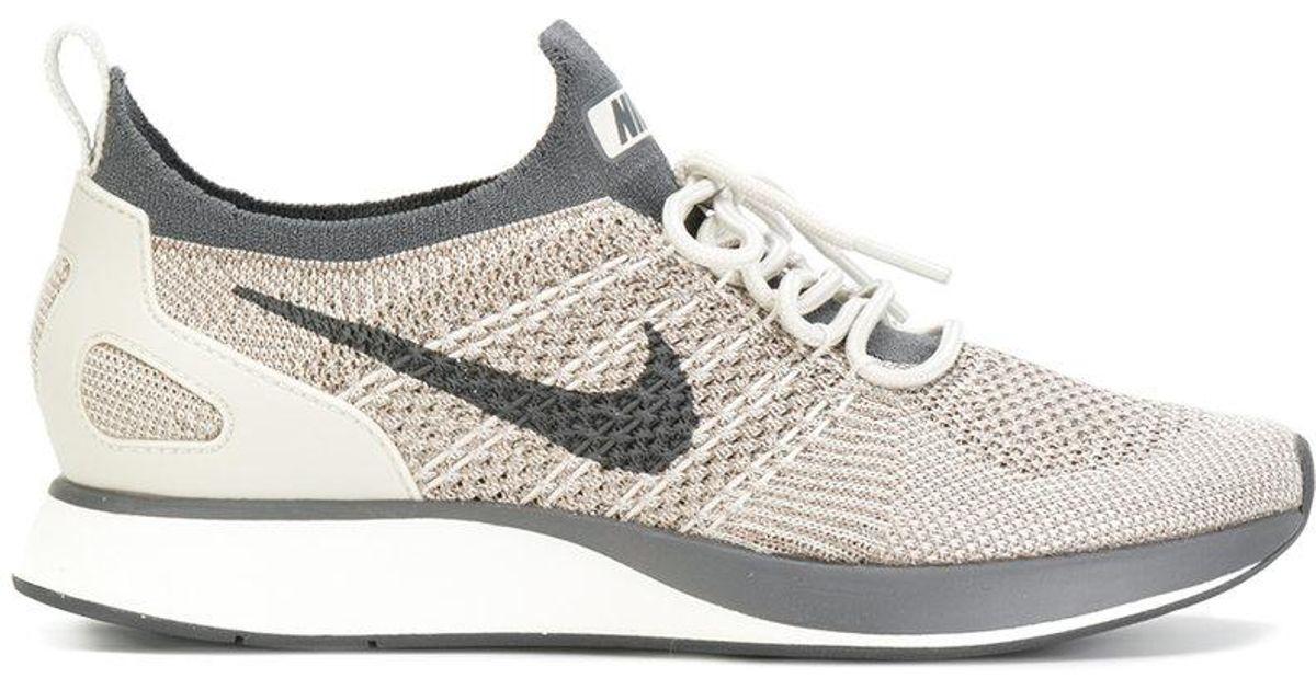 6b232643033 Nike Mariah Flyknit Racer Sneakers in Gray - Lyst