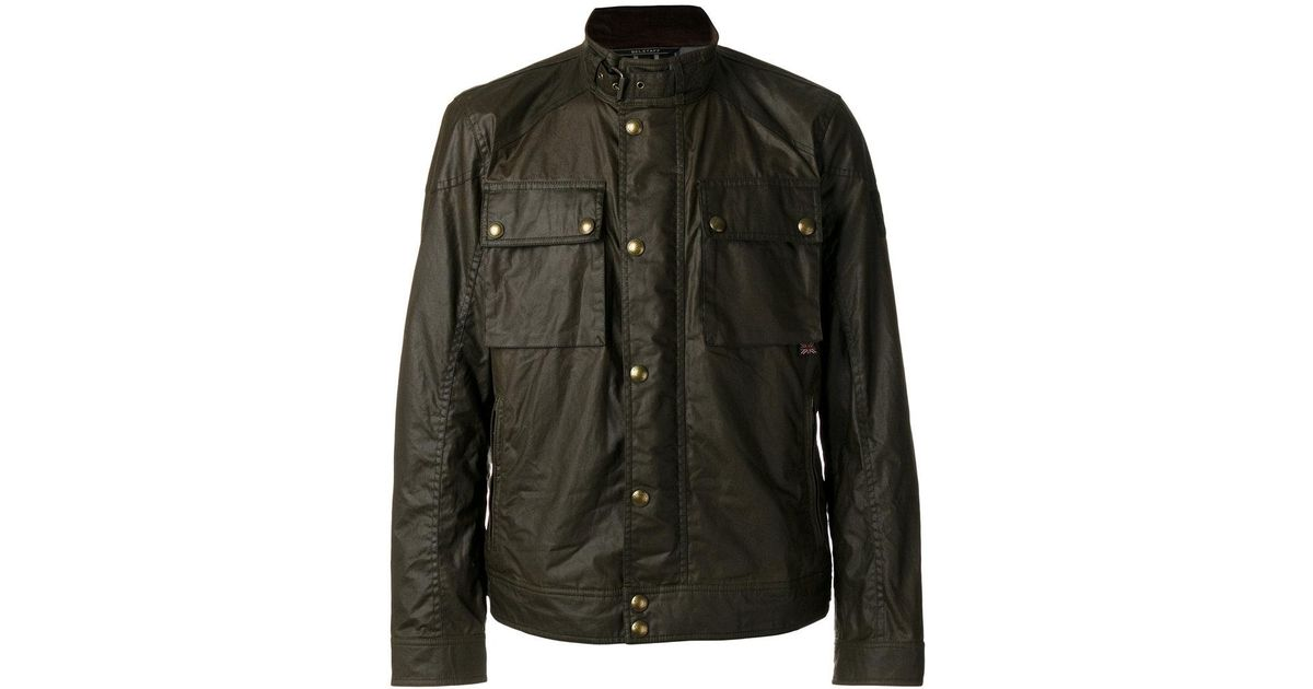 a501c3f4d Belstaff - Green Racemaster Bomber Jacket for Men - Lyst