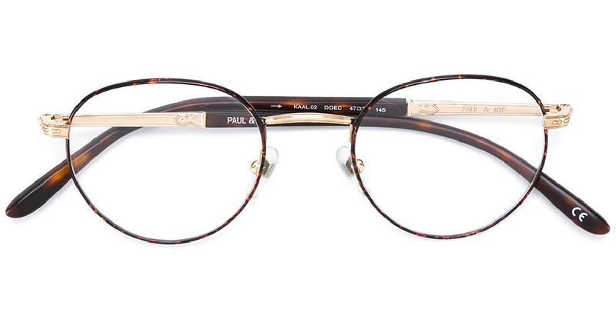 2965c1b9e9 Paul   Joe  kaal  Glasses in Brown - Lyst