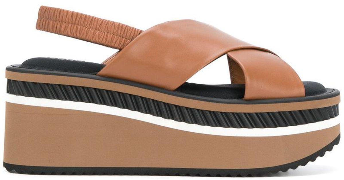 Crosse platform sandals - Brown Robert Clergerie vEErb