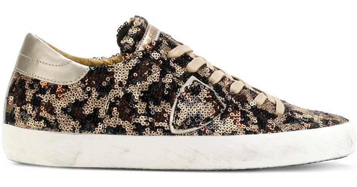 sequin embellished sneakers - Brown Philippe Model Low Price Sale hRVKrJJf8e