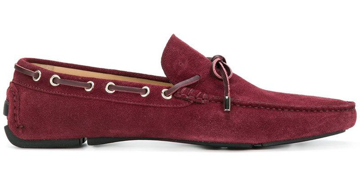 logo plaque moccasins - Red Just Cavalli NCdeN54h
