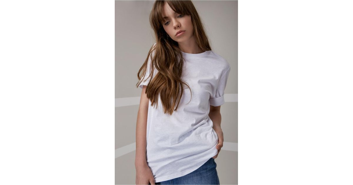 a17b97ddd4ed Lyst - The Fifth Label Off Duty T-shirt in White