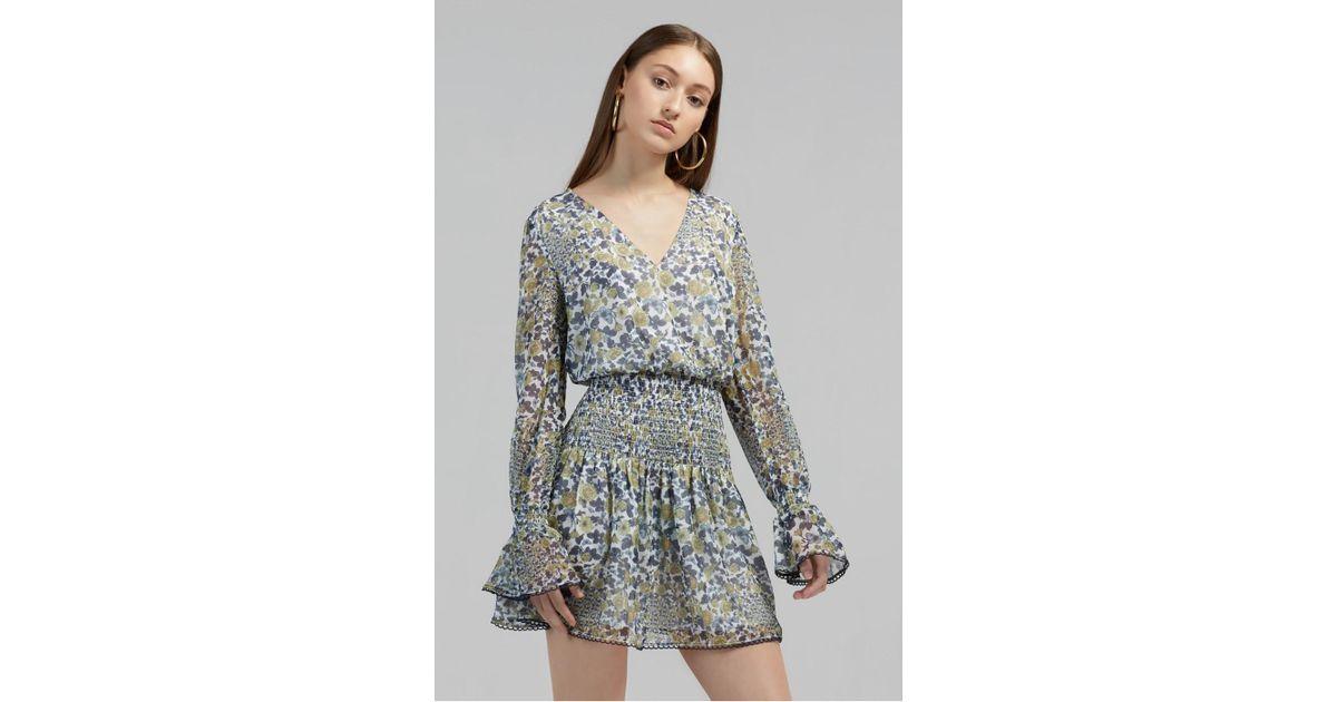 98281c4f816f Finders Keepers Horizon Mini Dress in Blue - Lyst