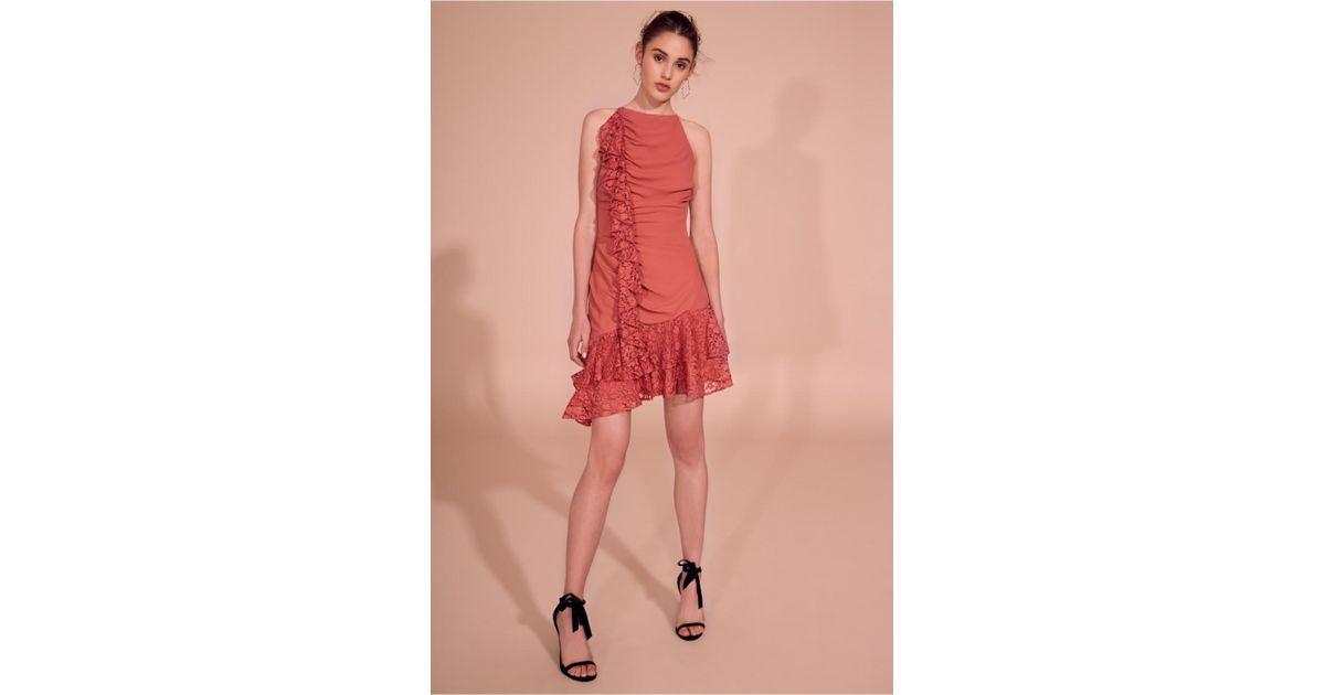 Keepsake All Night Mini Dress in Red - Lyst 33b4657f9