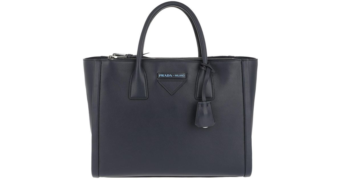 Tote - Concept Handle Bag Tote Leather Baltico - marine - Tote for ladies Prada IusVS8