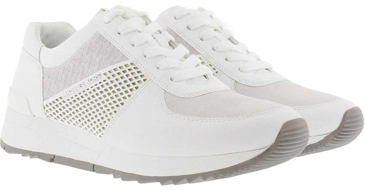 359b68a272e9 Michael Kors Allie Trainer Sneaker Optic White in White - Lyst