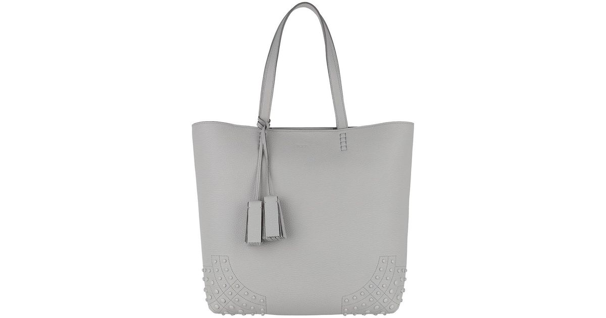 Discount Order Clearance Tod's Tote - Satchel Wave New Tote Soft Gommini Grigio - - Tote for ladies Outlet Cheapest Wide Range Of For Sale xeeQfxwb