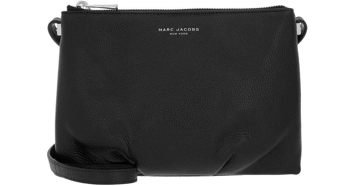0ba8344daa Marc Jacobs Standard Crossbody Bag Black in Black - Lyst