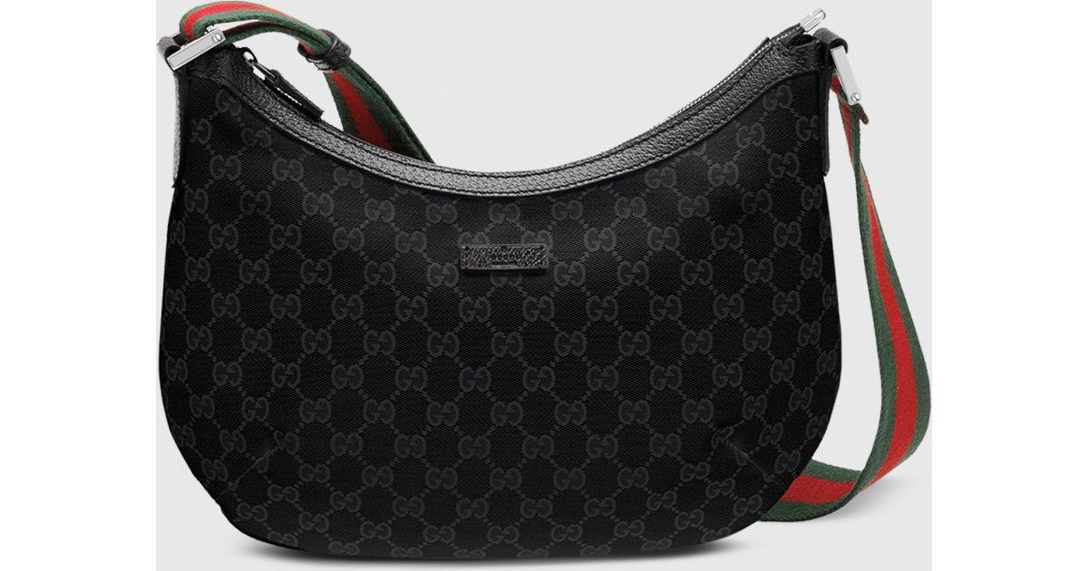 43d47f3ec0330 Lyst Gucci Original Gg Canvas Messenger Bag In Black For Men