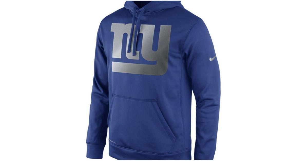 ... Logo Essential Performance Hoodie - Royal Nike Mens New York Giants  Reflective Ko Hoodie in Blue for M ... e3938d0ba
