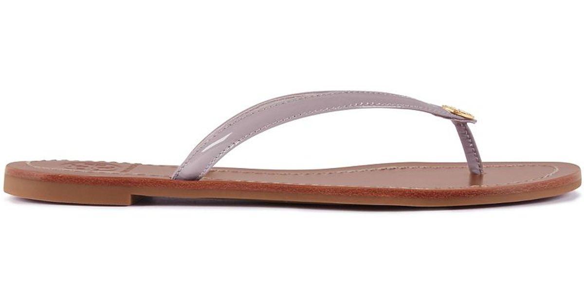 eff5c9564f65 Lyst - Tory Burch Terra Thong Sandal in Gray