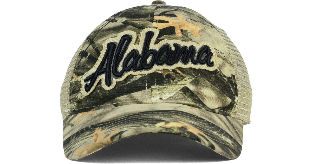 d6155224d50e4 Legacy Athletic Alabama Crimson Tide Lost Camo Script Trucker Cap in Gray  for Men - Lyst