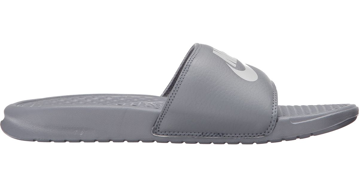 ce4f4a6402ae Lyst - Nike Benassi Jdi Slide in Gray