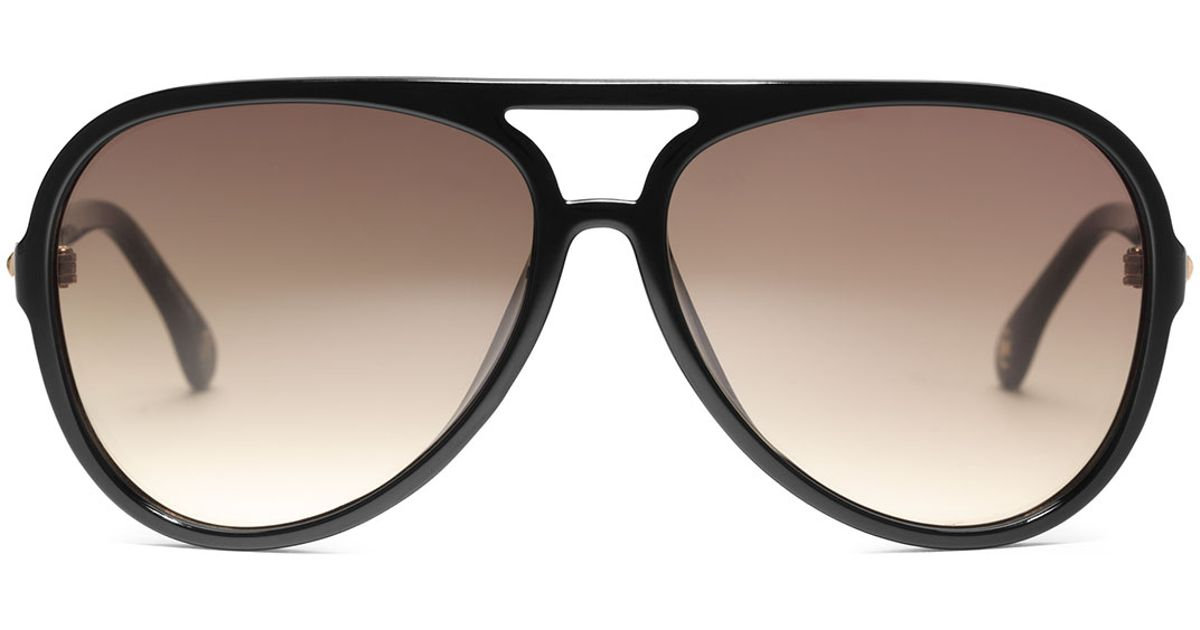 daa27c73db MICHAEL Michael Kors Brynn Sunglasses in Black - Lyst