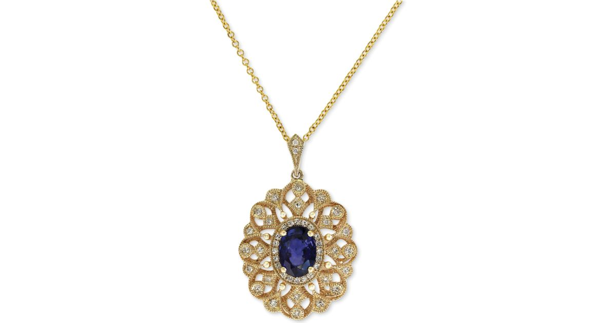 Effy Collection Royale Bleu By Effy Diffused Sapphire 9