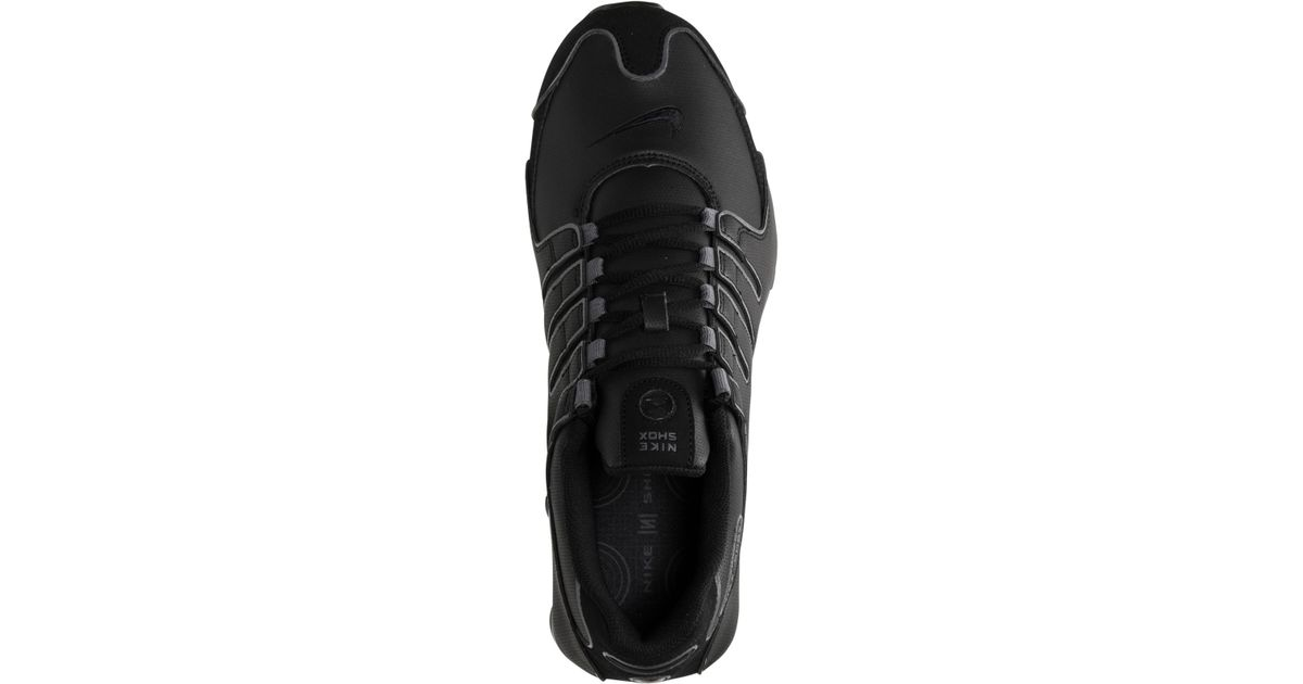 lowest price 28a55 5371e Lyst - Nike Men s Shox Nz Sl Running Sneakers From Finish Line in Black for  Men