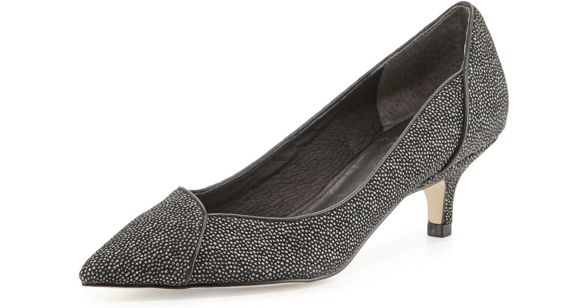 Pewter Womens Evening Shoes