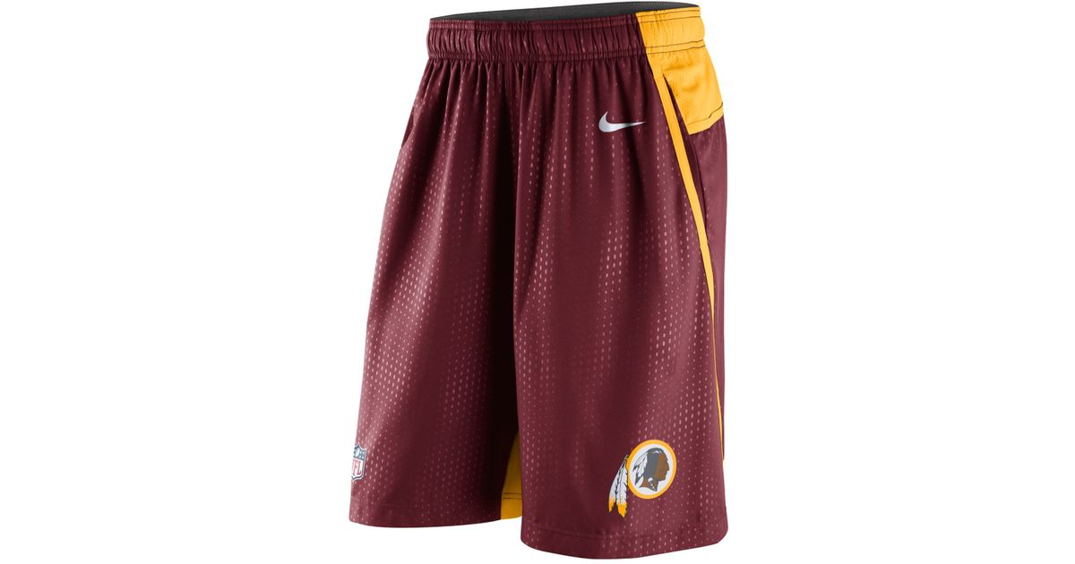 Lyst - Nike Men s Washington Redskins Dri-fit Fly Xl 3.0 Shorts in Red for  Men 13037273a