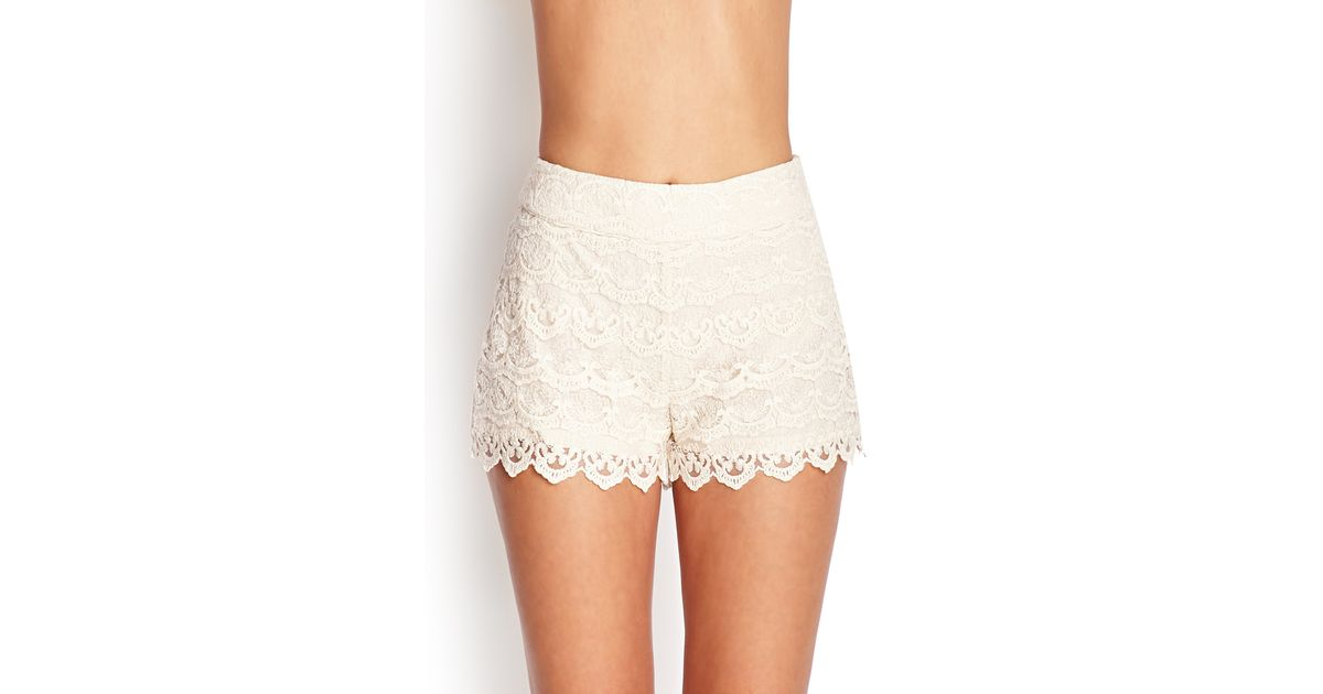 Forever 21 Crochet Lace Shorts Youve Been Added To The Waitlist In