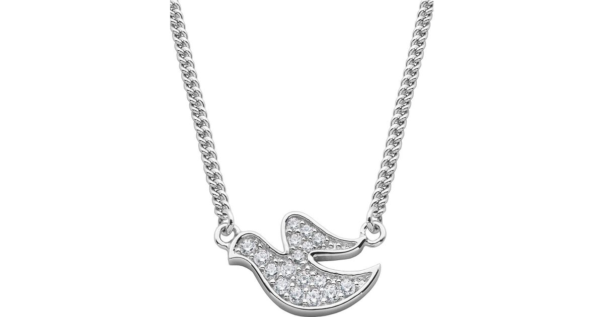 Lord taylor angels and fashion newness glitz and sterling silver lord taylor angels and fashion newness glitz and sterling silver dove pendant necklace in metallic lyst aloadofball Choice Image