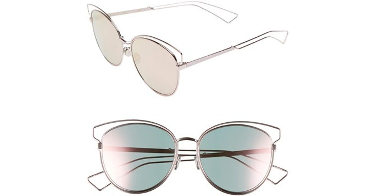 2e6c03014be6 Lyst - Dior  sideral  56mm Sunglasses in Gray
