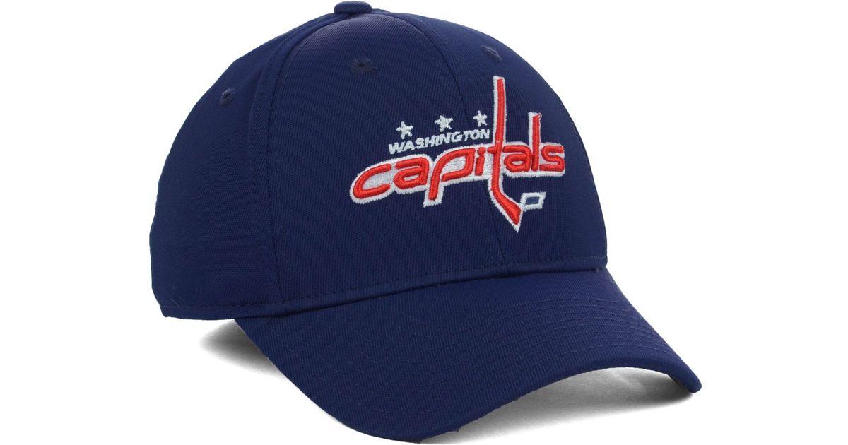 Lyst - Reebok Washington Capitals Nhl Hat Trick 2.0 Cap in Blue for Men f3c93bdcc7a