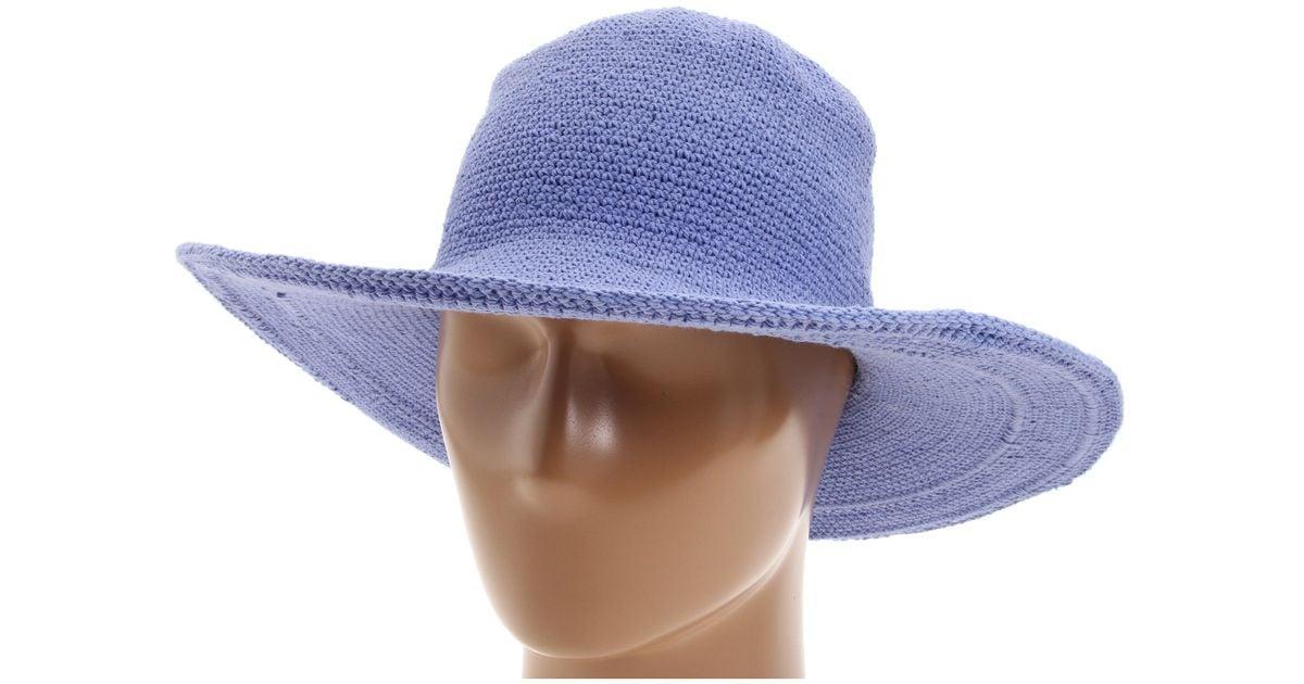 340070c6d22 Lyst - San Diego Hat Company Chl5 Floppy Sun Hat in Blue