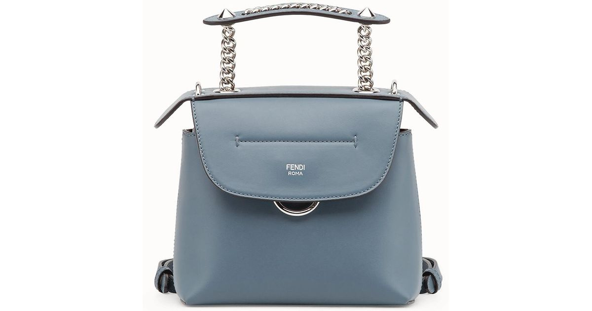1909b9a7ff Lyst - Fendi Mini Back To School Backpack Mini Back To School Backpack in  Blue
