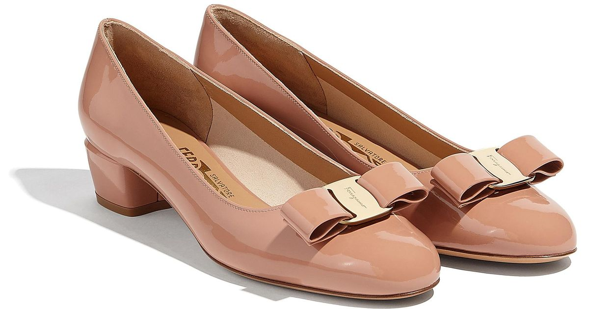 5549db17262d Lyst - Ferragamo Vara Bow Pump Shoe - Save 24%