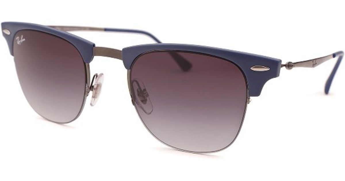 ray ban unisex sunglasses clubmaster  ray ban blue clubmaster round blue sunglasses product 0 475413826 normal.jpeg