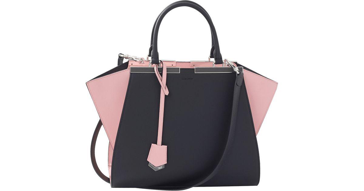 Lyst - Fendi 3jours Shopper Bag in Pink 43d488eb1b566