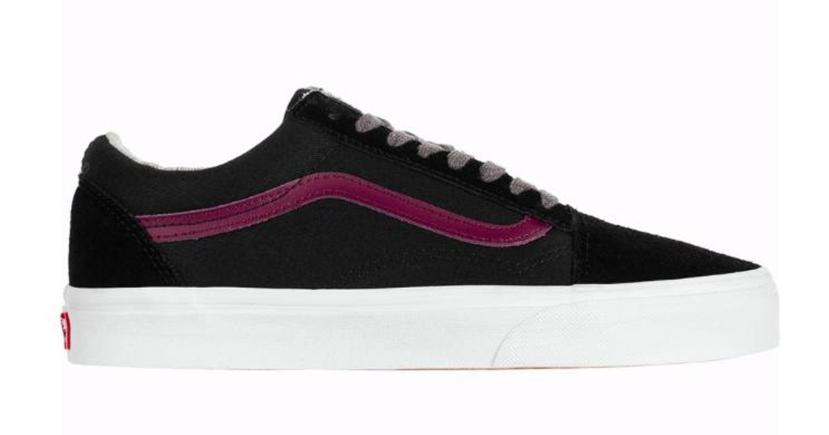 6b4dfc9414 Lyst - Vans Men Jersey Lace Old Skool Shoes