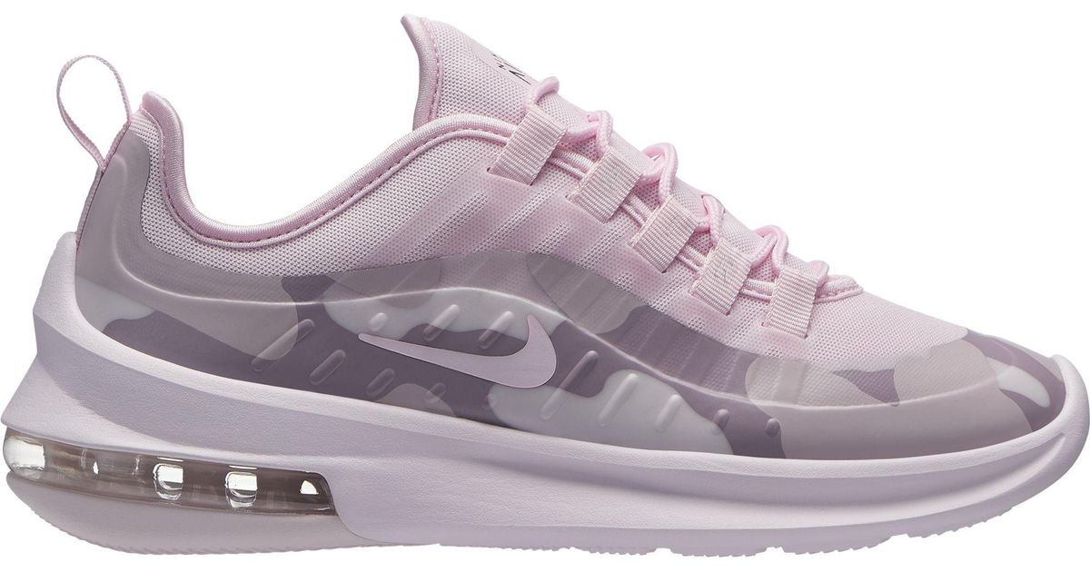 the best attitude e5f39 14a39 Nike Air Max Axis Premium Sneakers, Pale Pink pink Foam black in Pink - Lyst