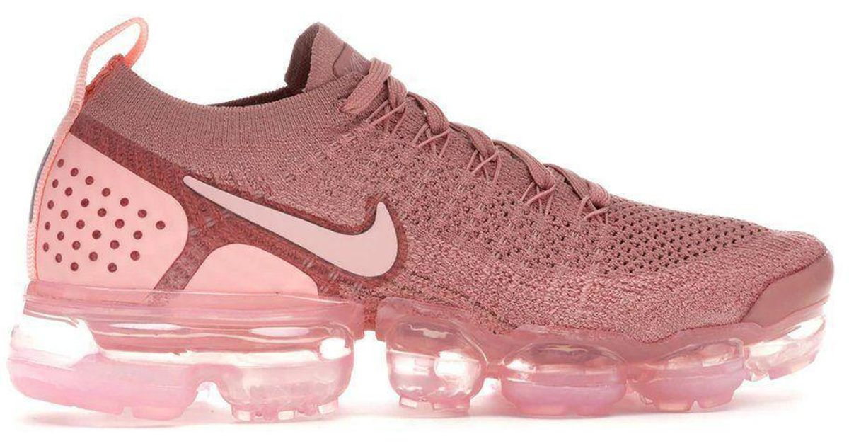 best loved 458f8 2c9ce Nike - Dusty Pink Vapormax 2 By - Lyst